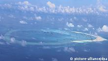 China Chinesisches Meer Spratly Inseln