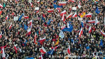 Διαδήλωση κατά της δικαστικής μεταρρύθμισης