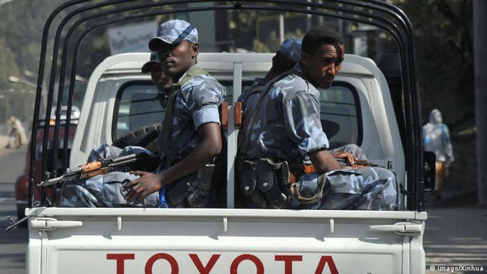 Äthiopien Polizei