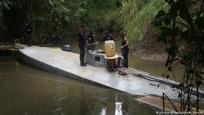 Brasilien U-Boot Drogenschmuggel
