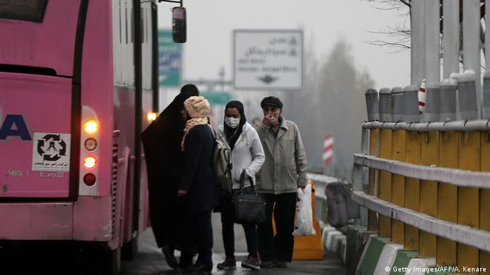 Iran Smog in Teheran