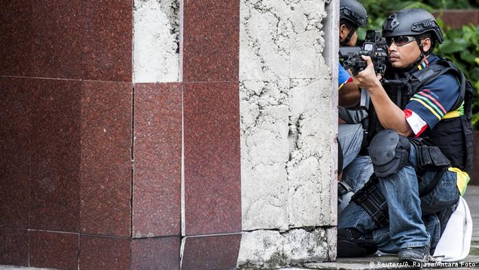 Indonesien Anti-Terror-Übung