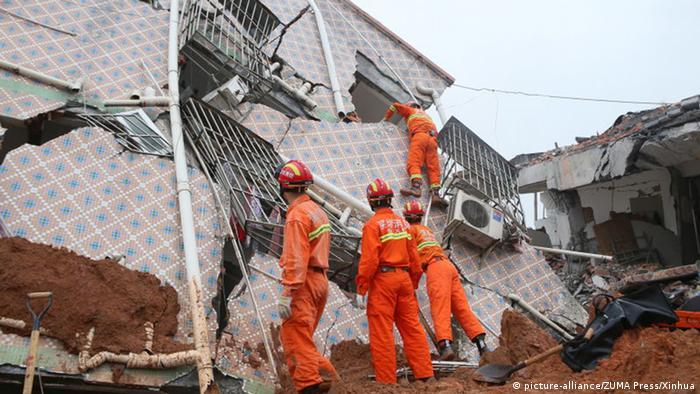 China Bergrutsch in Shenzhen