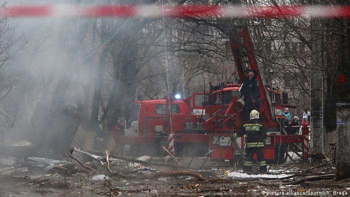 Последствия взрыва газа в одном из жилых домов Волгограда