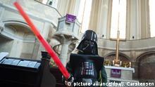 Deutschland Star-Wars-Gottesdienst in der Berliner Zionskirche