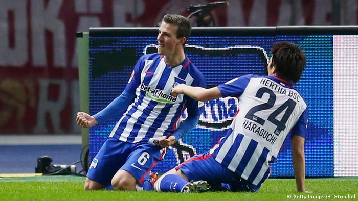 El Hertha de Berlin se afianza en la tercera posición