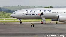 Kenia Boeing 777 Air France Flug Notlandung