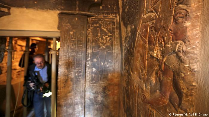 Ägypten Grab von Tutanchamun wieder geöffnet (Reuters/M. Abd El Ghany)
