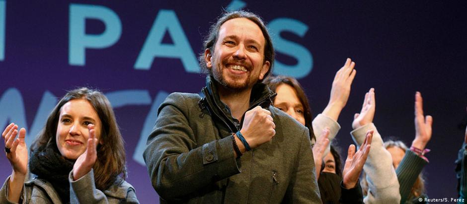 Pablo Iglesias, líder do Podemos, exige reforma Constitucional para partido aliado