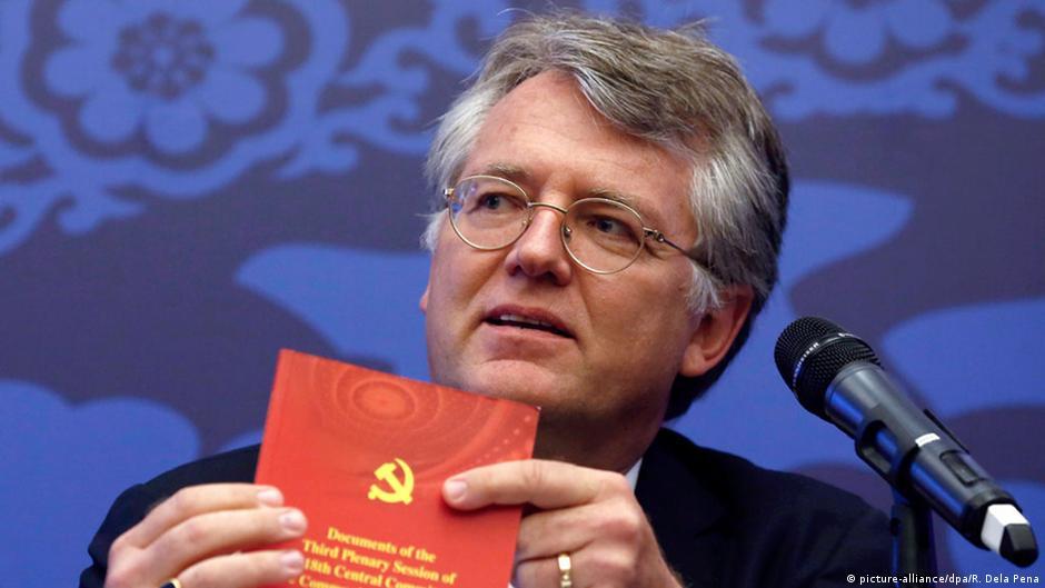 中國歐盟商會主席武特克(Jörg Wuttke)