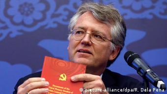 Ο πρόεδρος του Ευρωπαϊκού Επιμελητηρίου στην Κίνα, Γεργκ Βούτκε