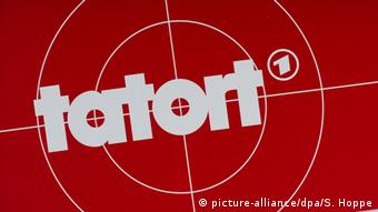 Tatort logo (picture-alliance/dpa/S. Hoppe)