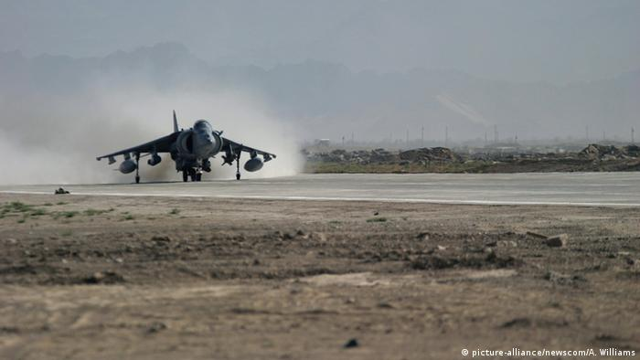 Afghanistan Bagram Air Base (picture-alliance/newscom/A. Williams)
