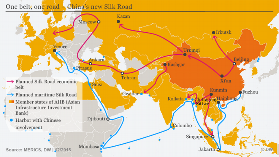 New Silk Road And China S Hegemonic Ambitions Asia An In Depth Look At News From Across The Continent Dw 15 05 2017