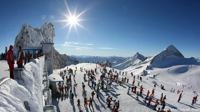 Österreich Zillertal Hintertuxer Gletscher