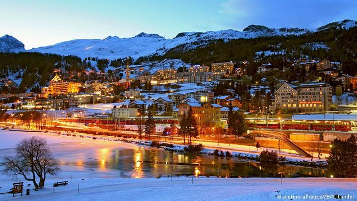 Schweiz Sankt Moritz