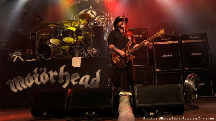 Lemmy Kilmister performs in Hannover
