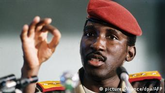 Burkina Faso Päsident Thomas Sankara