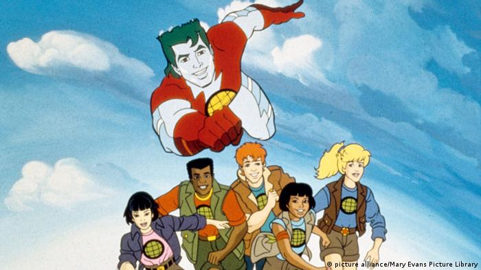 USA Fernsehsendung Captain Planet and the Planeteers (picture alliance/Mary Evans Picture Library)