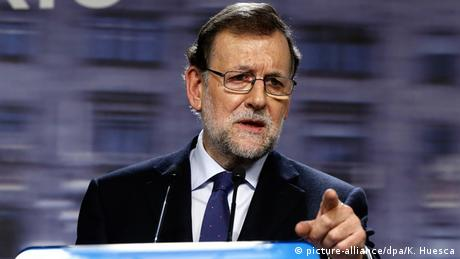 Spanien Premierminister Mariano Rajoy in Madrid