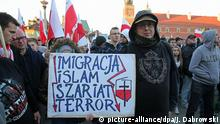 Far-right demonstration in Warsaw