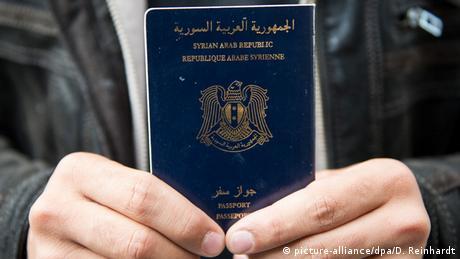 Syrischer Reisepass