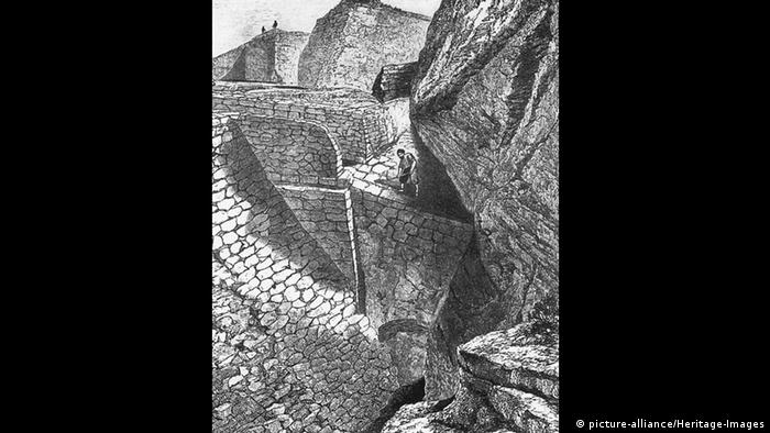 Heinrich Schliemann Ausgrabungen in Troja