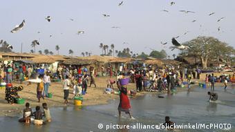 Gambia Fischmarkt