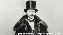 Ein historisches Foto von Heinrich Schliemann
