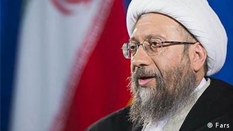 Justiz Justizchef Amoli Larijani Iran (Fars)