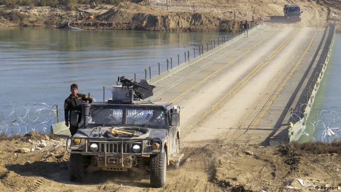 Irak Militär Aufmarsch gegen IS in Ramadi