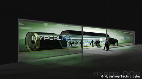 O Hyperloop na Califórnia