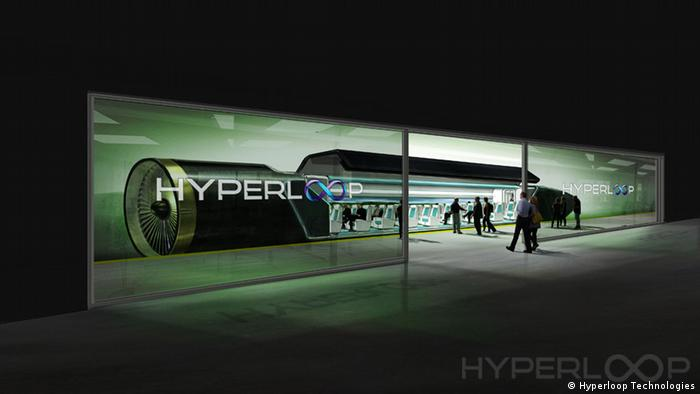 Hyperloop Kalifornien (Hyperloop Technologies)