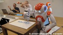 Frankreich Roboter Nao (picture-alliance/dpa/J. Varoquier)