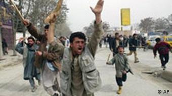 Karikaturenstreit - Proteste in Afghanistan