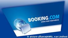 2014-04-28 The website of Booking.com pictured at 28 April 2014. Through the site hotel nights can be booked at a favorable rate. ANP LEX VAN LIESHOUT +++(C) picture-alliance/ANP/L. van Lieshout