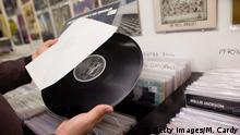 Symbolbild Schallplatte Verkaufserfolg von Vinyl