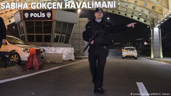 Türkei Explosion am Sabiha Gökcen Flughafen Istanbul