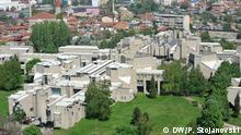 Universitätscampus in Skopje, Mazedonien Skopje, Mazedonien, 12.2015 Copyright: DW/P. Stojanovski