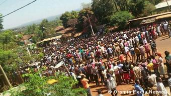Oromo Proteste in Äthiopien