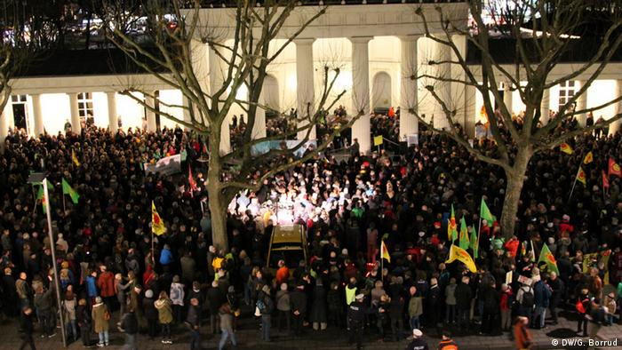Antinukleare Proteste in Aachen
