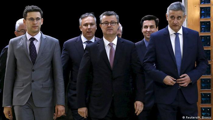 Božo Petrov i Tomislav Karamarko povjerili su formiranje nove vlade Tihomiru Oreškoviću