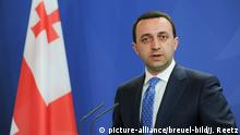 Irakli Garibaschwili the Prime Minister of Georgia hosted Press conference at the Chancellery on Monday 02.Juni 2014 in Berlin