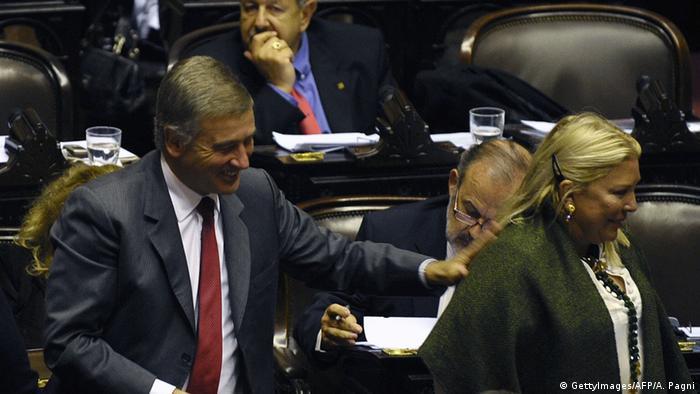 Argentinien Minister Oscar Aguad