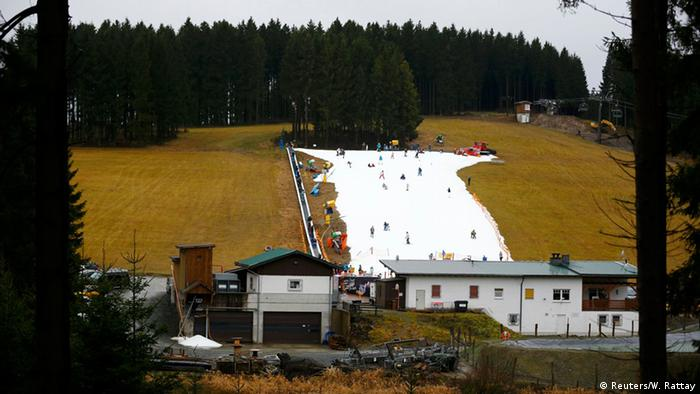 Winterberg Künstliche Skipiste Kunstschnee