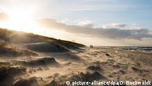 Mecklenburg-Vorpommern Ahrenshoop Ostsee Strand Sonne