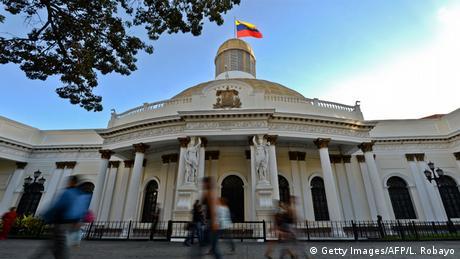 Assembleia Nacional da Venezuela, em Caracas
