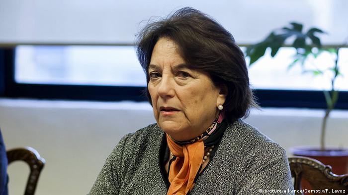 Andrea Delpiano, ministra chilena de Educación.