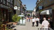 Stadt Königstein Fußgängerzone