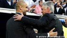 Carlo Ancelotti Real Madrid Pep Guardiola